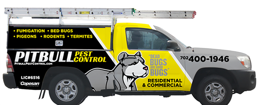 Pitbull Pest Control truck